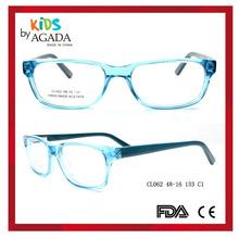 New design acetate kids price tags glasses