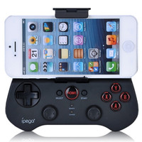 Newest Wireless Mobile Phone Joystick Bluetooth Game Controller For iPhone/ iPad/ Android Mobile Phones/ Tablet PC