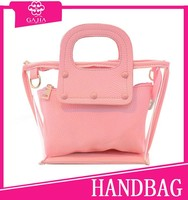 hot clear 2 pcs in 1 cheap beach bag China online shopping