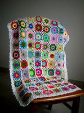 Milk Cotton Baby Blanket Throw Hand Crochet Innovation Factory