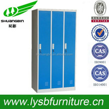 3 Door Metal clothes Storage for home or factory Locker/Metal lockers storage cabinets/chinese altar cabinet