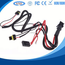 2015 factory price for wire harness shielded cable with grounding terminals cable assembly and wire harness on alibaba