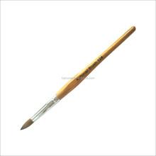 wooden handle nail brush