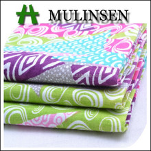 Shaoxing woven 40s poplin printed wholesale cotton fabric/ skirt fabric