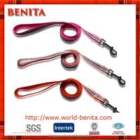 2016 factory supply customized nylon reflective wholesale dog leash
