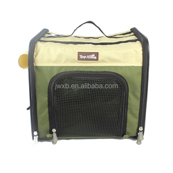 2 ways pet dog carriers for large dog with stainless steel frame