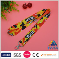 TATA Promotion Print Logo Custom Cheap Keychain Lanyard