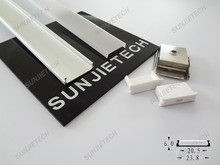 New Design Super Slim Anodized led Profiles for LED Strips 20mm width