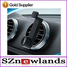 Plastic Clip Cell Phone Rotatable Air Vent Mount Mobile Phone Holder For Car