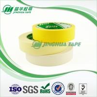yellowish crepe paper masking tape,acrylic glue tape