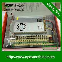 CP-PSU18CH/30A 12V 30A 18CH output centralized power box 360w power supply DC12V 30A switching power