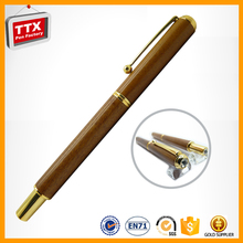 Laser engraved recycled wood pen ,fast delivery