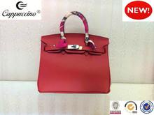 Guangzhou fábrica de alta qualidade bolsas de couro genuíno bolsas mulheres