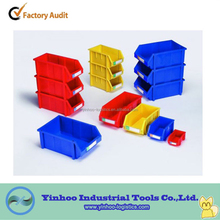 high performace free samples plastic stackable storage bins for secure storage of small parts alibaba China