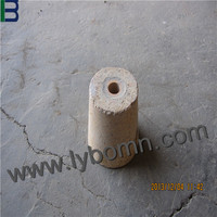high quality unshaped refractory material for cement kilns