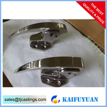 lost foam casting hardware with CNC machining new mold power coating casing iron, casting foundry for power line/heavy duty truc