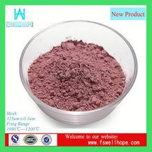 acid stain concrete china Pink ceramic colors pigments