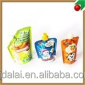 wholesale different size spout pouch bag for packing christmas ornaments