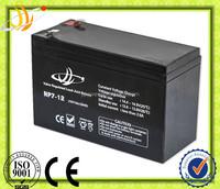high quality 6-fm-7 battery, 12v 7ah alarm lead acid battery, 12v 7.2ah battery for solar and ups system
