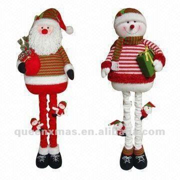 Santa snowman large outdoor christmas decoration buy for Very large outdoor christmas decorations