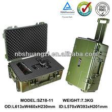 IP67 plastic waterproof shockproof military Rifle gun case hard plastic waterproof equipment case