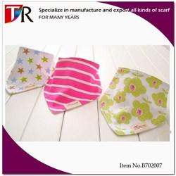 Thick Scarf Top Grade Baby Bibs Cotton 3pcs Set/Lovely Newborn Bibs/New Baby Bibs