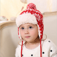 Wholesale Warmer Cute Children Crochet Baby Winter Hat