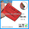 mobile phone battery manufacturer,li-ion high capacity EVO 4G battery for HTC