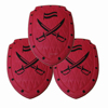 red color toy pirate sword and shield, body safety protective shield