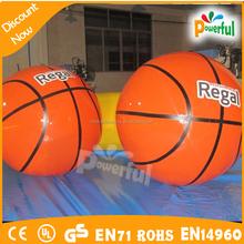 inflatable giant basketball,helium basketball balloon on sale