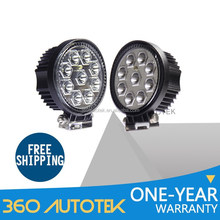 Wholesale Ip67 Flood Spot Beam 27w Led Work Light 12v 24v Led Work Light For Truck,Atv,Suv,Jeep,Boat,Bus