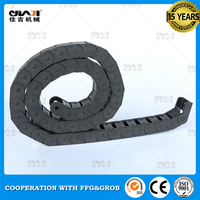 High quality authentic flexible 10mm plastic cable drag chain