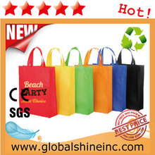 fashion style colorful handled non woven bag