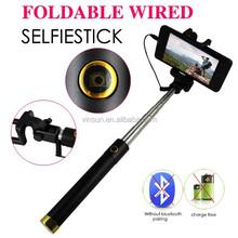 colorful folding mini flexible hand self-portrait selfie stick for nokia lumia 920 with good quality