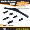 Auto body parts multifuctional universal soft wiper blade