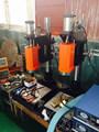Control automático de frecuencia soldador ultrasónicos para tela no tejida de soldadura