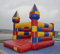 inflatable bouncies, high quality jumpy castles with slide low price China for sale