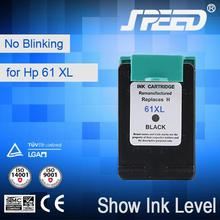 Ink Visible 61Xl Ink Cartridges for HP Printer with ISO Certifiecate