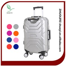 cheap hard shell suitcase set of 3, carry on trolley suitcase