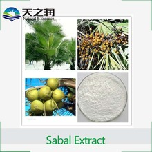 Natural Hot sale Saw palmetto Fruit Extract, Saw palmetto Fruit Extract powder