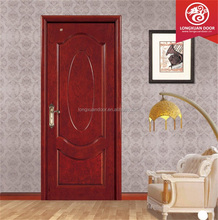 Interior door design for moulded wood veneer door skin for villa wood door
