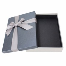 hot sell cheap wholesale Handmade high quality fashion luxury gift/shoe paper box with ribbon bow