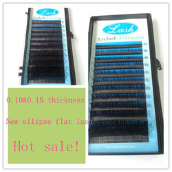 sample available D curl eyelash hair extension for girl/women/lady