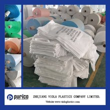 Viola plastic woven sacks industry used for chemical, feed, packaging, industrial applications