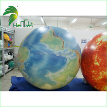 Newest Design Customized Amazing Commercial Inflatable Planet Helium Balloon