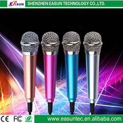 2016 Crazy popular mini pocket microphone karaoke player