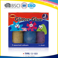 40ml Promotional Bright Color Glitter Glue for Decoration