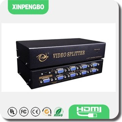 8 Ports Cable Splitter VGA For 1920 1440 Monitor