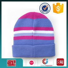 Popular product factory wholesale Top Quality custom made knitted hat patterns for girls fine workmanship