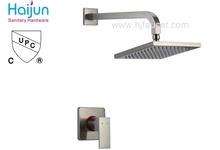 Hot Sale Square Shape Single Handle Bath Shower Faucet (86H15-BN-S)